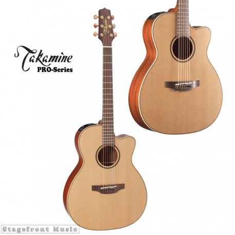 TAKAMINE P3MC PRO SERIES 3 ORCHESTRAL ACOUSTIC /ELECTRIC GUITAR WITH CASE
