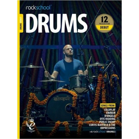 ROCKSCHOOL DRUMS DEBUT 2018 – 2024 NEW EDITION
