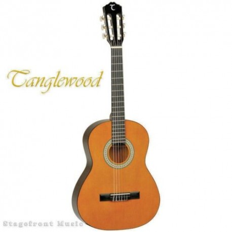 TANGLEWOOD DISCOVERY 1/2 HALF SIZE CLASSICAL GUITAR - TWDBT12-NAT