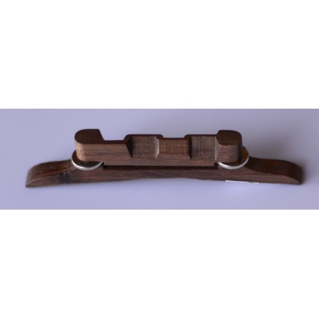 MANDOLIN BRIDGE ADJUSTABLE ARCHTOP 110mm