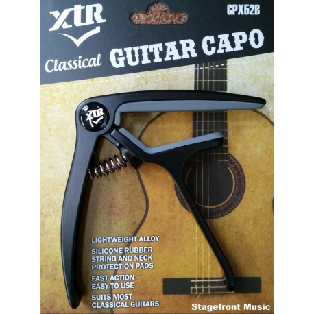 XTR CAPO CLASSICAL GUITAR FAST ACTION LIGHTWEIGHT ALLOY