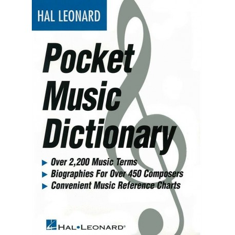 THE HAL LEONARD POCKET MUSIC DICTIONARY 3 DICTIONARIES IN 1