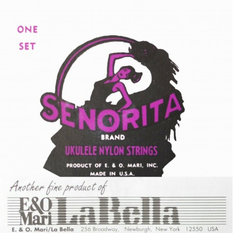 LA BELLA SENORITA QUALITY SOPRANO UKULELE STRINGS MADE IN USA