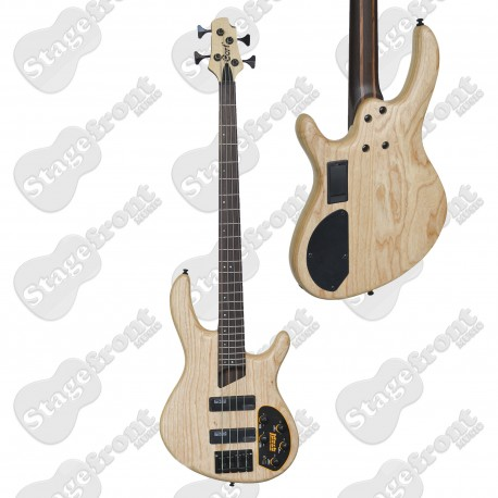 CORT B4 PLUS AS OPN ELECTRIC BASS GUITAR OPEN PORE NATURAL SWAMP ASH BODY