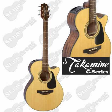 TAKAMINE GF30CE. FXC CUTAWAY ACOUSTIC/ELECTRIC SOLID TOP GUITAR -NEW