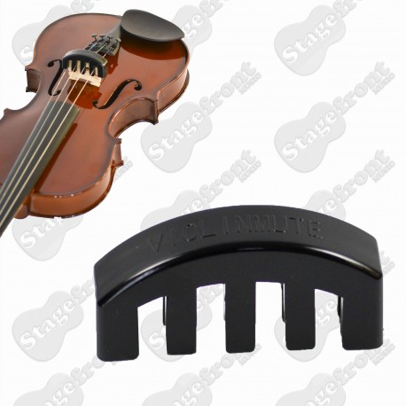 RUBBER VIOLIN MUTE FOR QUIET PRACTICE / SUITS 4/4 FULL SIZE VIOLIN