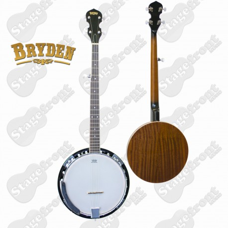 BRYDEN 5 STRING BANJO ULTIMATE BEGINNERS BANJO 22 FRETS 24 BRACKETS