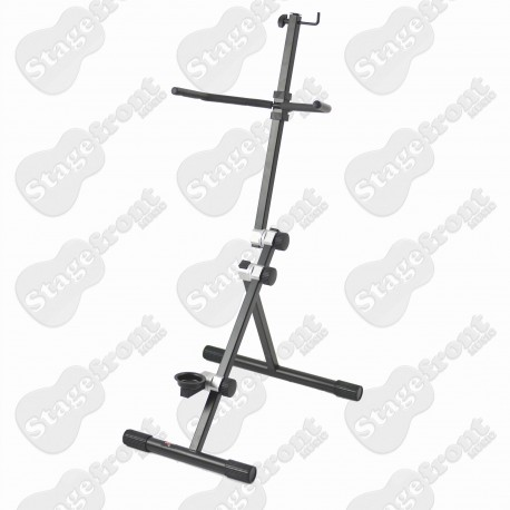 CELLO STAND. PROFESSIONAL, HEAVY DUTY 'A' FRAME STEEL STAND - TV7030
