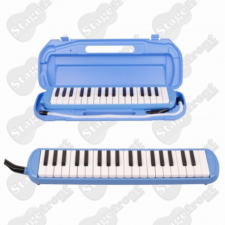 MANO MEL37K MELODICA 37 NOTES. F - F3. MOUTHPIECE w/FLEXIBLE COILED PLASTIC TUBE