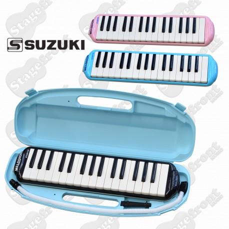 SUZUKI STUDY32 ALTO MELODION WITH MOUTHPIECE, FLEXIBLE TUBE & CASE
