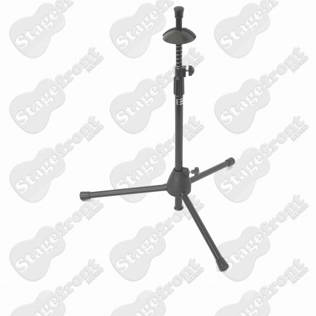 TROMBONE STAND. STURDY TUBULAR STEEL STAND. BELL PROTECTION PADS - BWA92