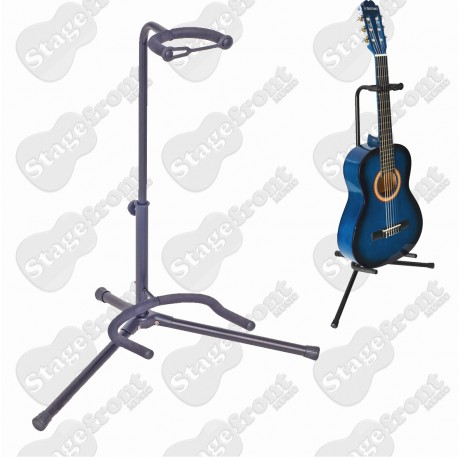 XTREME TUBULAR STYLE HEAVY DUTY SINGLE GUITAR STAND - GS10