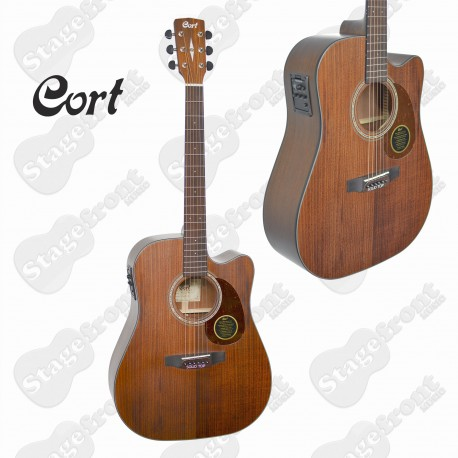 CORT MR710F ABW. ALL BLACKWOOD WITH SOLID TOP ACOUSTIC /ELECTRIC GUITAR