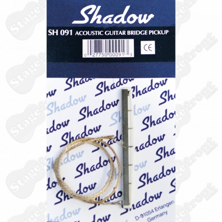 SHADOW ACOUSTIC GUITAR BRIDGE PICKUP PIEZO BAR SH091 – MADE IN GERMANY