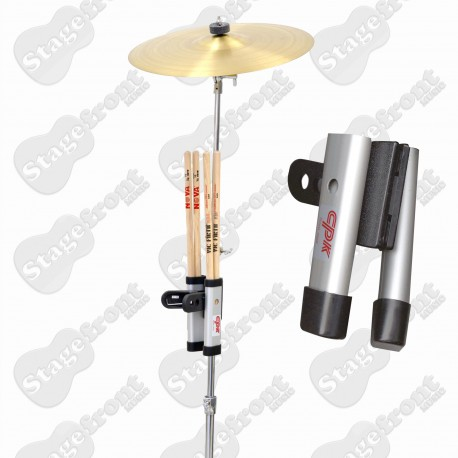 CPK DB757 HIGH QUALITY BLACK DRUM STICK HOLDER CLIPS ONTO DRUM OUTFIT