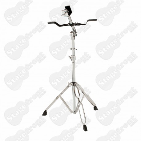 BONGO STAND DS363 HEAVY DUTY DOUBLE BRACED. RUBBER PADDED SUPPORT ARM. MEMORY LOCK