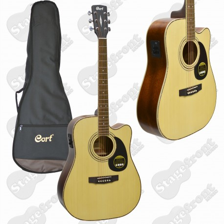 CORT AD880CE ACOUSTIC ELECTRIC CUTAWAY GUITAR