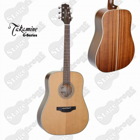 TAKAMINE GD20 DREADNOUGHT STYLE ACOUSTIC GUITAR COMBINATION OF CLASSIC TONEWOODS