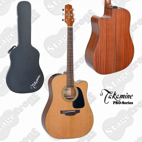 TAKAMINE P1DC PRO SERIES 1 ACOUSTIC /ELECTRIC GUITAR NATURAL GLOSS TOP