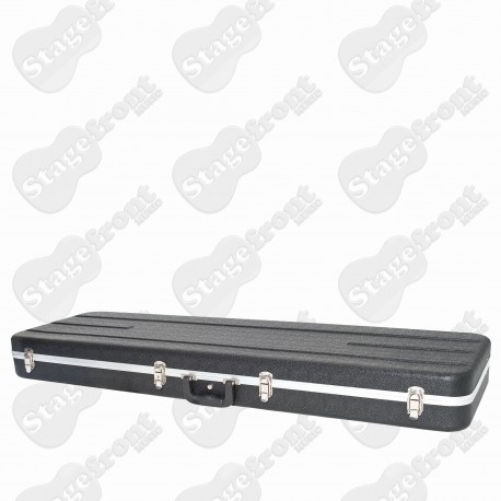 BASS HARD CASE ABS MOULDED SUITS PB/JB STYLE BASSES MOULDED POLYSTYRENE INTERIOR