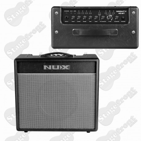 NU-X MIGHTY40BT DIGITAL 40W GUITAR AMPLIFIER WITH BLUETOOTH & EFFECTS