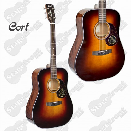 CORT EARTH 300VF VINTAGE ACOUSTIC/ELECTRIC GUITAR. SOLID ADIRONDACK SPRUCE TOP