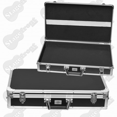 EFFECTS PEDAL ROAD CASE WITH REMOVABLE LID FITS 6-8 PEDALS ROADCASE PC310