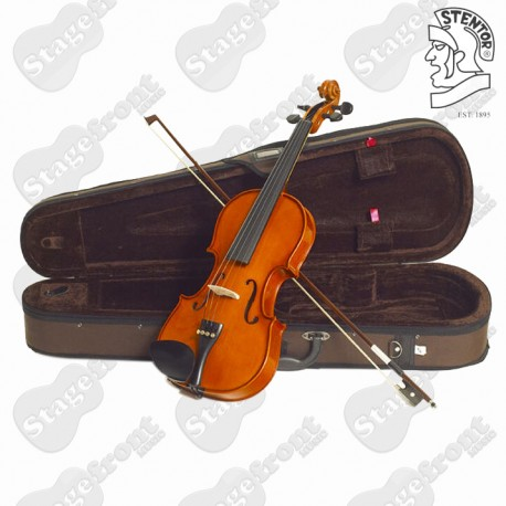STENTOR STANDARD VIOLIN OUTFIT A GOOD STARTER FOR STUDENTS - CHOOSE YOUR SIZE