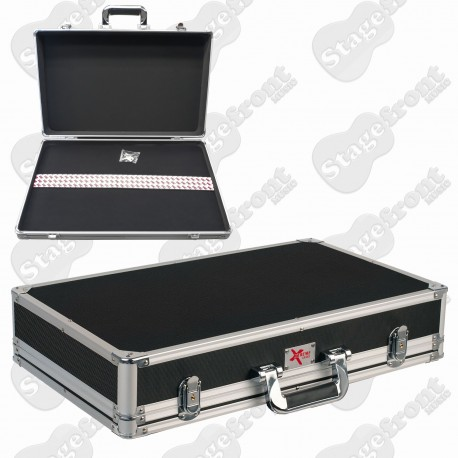 PEDAL ROAD CASE WITH REMOVABLE LID & ALUMINIUM BINDING - PC210