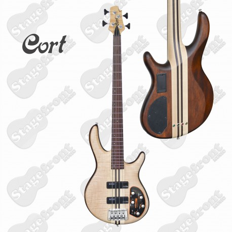 CORT A4PL-OPN ARTISAN PLUS. OPEN PORE ELECTRIC BASS GUITAR