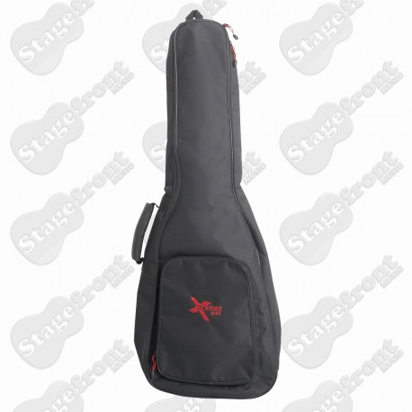 TRAVELLER BANJO GIG BAG BLACK HEAVY DUTY NYLON WATERPROOF