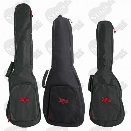 GIG CARRY BAG SUITS GUITARS AND BASSES 5mm SPONGE LINED SOFT CASE- SELECT SIZE