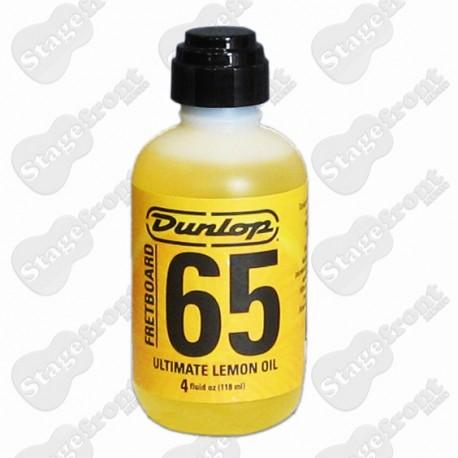 JIM DUNLOP J6544 PLAYER TESTED FRETBOARD 65 ULTIMATE LEMON OIL. 4oz/118ml