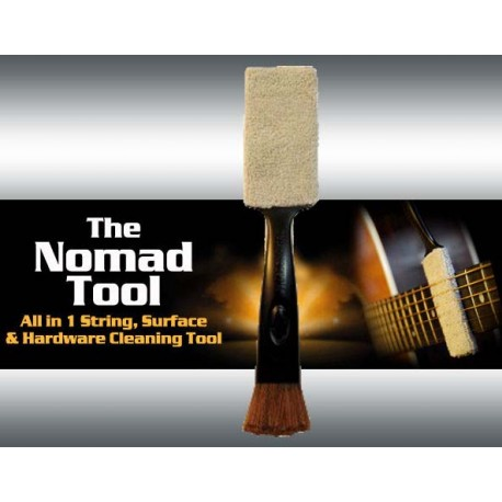 MUSIC NOMAD TOOL ALL IN ONE MN205 STRING, SURFACE & HARDWARE CLEANING TOOL