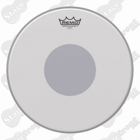 "REMO BLACK DOT CS-0114-10 SNARE HEAD CONTROLLED SOUND 14"" INCH COATED BOTTOM"