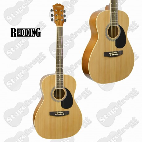 REDDING RED34 ¾ SIZE DREADNOUGHT SPRUCE TOP GUITAR. FREE ONLINE LESSONS