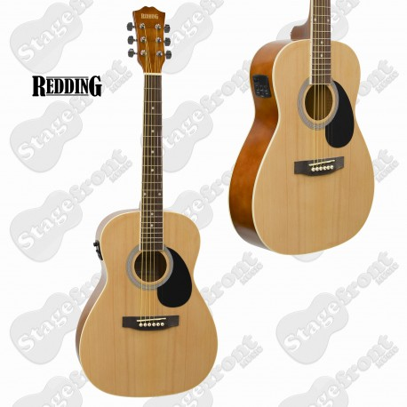 REDDING RED34E ¾ SIZE DREADNOUGHT ACOUSTIC/ELECTRIC GUITAR FREE ONLINE LESSONS