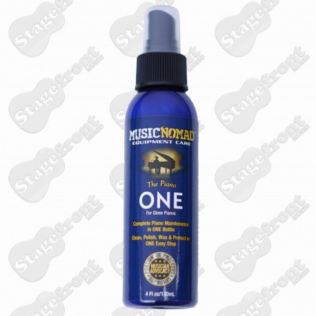 MUSIC NOMAD THE PIANO ONE, ALL IN 1 CLEANER, POLISH & WAX FOR GLOSS PIANOS MN130