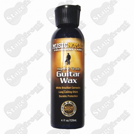 MUSIC NOMAD MN102 GUITAR WAX POLISH. HIGH GRADE BRAZILIAN CARNAUBA 4 Fl oz / 120mL