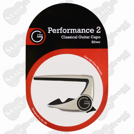 G7th PERFORMANCE 2 CAPO FOR NYLON STRING CLASSICAL GUITARS