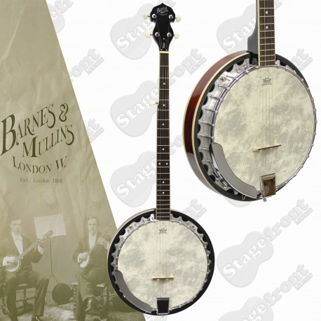 BARNES & MULLINS BJ300 PERFECT 5 STRING BANJO AUTHENTIC BLUEGRASS TONE