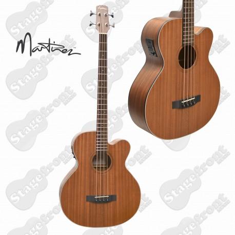 MARTINEZ MNBC-15-MOP ACOUSTIC /ELECTRIC MAHOGANY BASS GUITAR