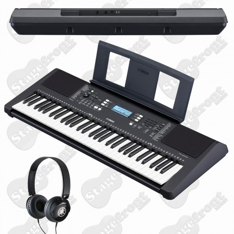 YAMAHA PSRE373 61 KEY TOUCH RESPONSIVE KEYBOARD with HEADPHONES+POWER SUPPLY