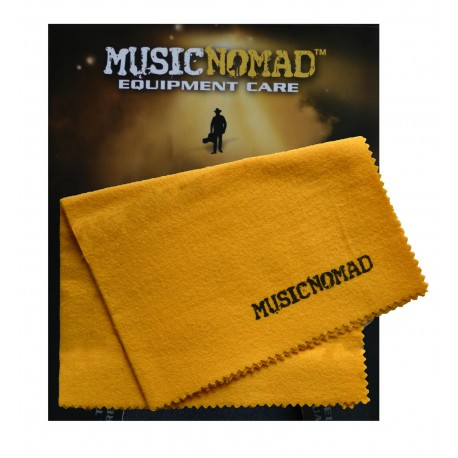 MUSIC NOMAD POLISHING CLOTH 100% PURE FLANNEL. SAFE NON-TREATED CLOTH. MN200