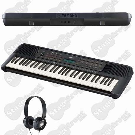 YAMAHA PSRE273 61 KEY PORTABLE KEYBOARD with HEADPHONES + POWER SUPPLY
