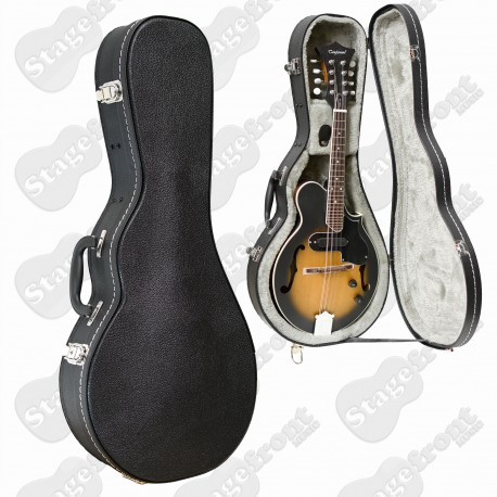 MANDOLIN HARDCASE ARCHED TOP PLYWOOD HARD CASE SUITS F-STYLE MANDOLINS VCS2140