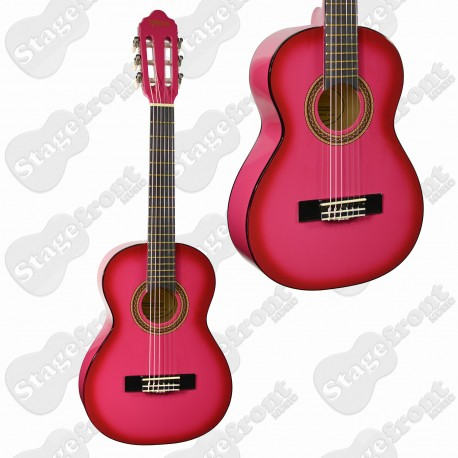 VALENCIA 1/4 NYLON STRING GUITAR PURPLE BURST