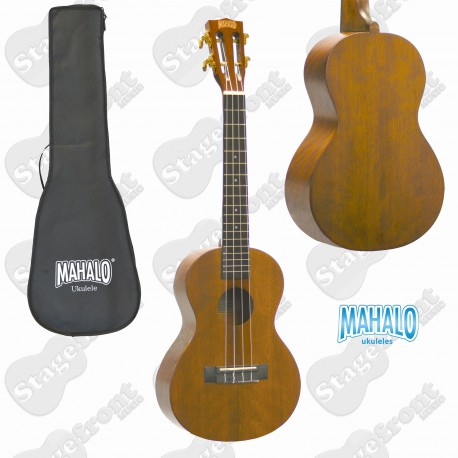 MAHALO MJ3VTTBR JAVA SERIES. TENOR ELECTRIC/ ACOUSTIC UKULELE
