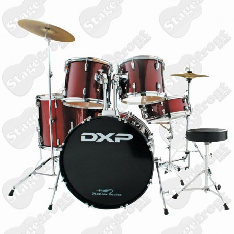 DXP TX04PWR 'PIONEER' SERIES ACOUSTIC DRUM KIT PACKAGE