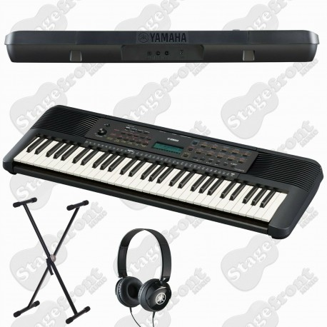 YAMAHA PSRE373 61 KEY TOUCH RESPONSIVE KEYBOARD with STAND